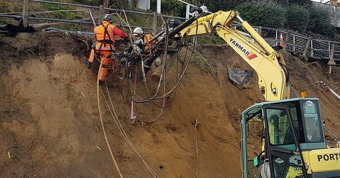 News - Motuhara Road slip works