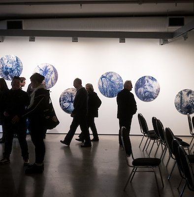 Exhibition in the main exhibition gallery