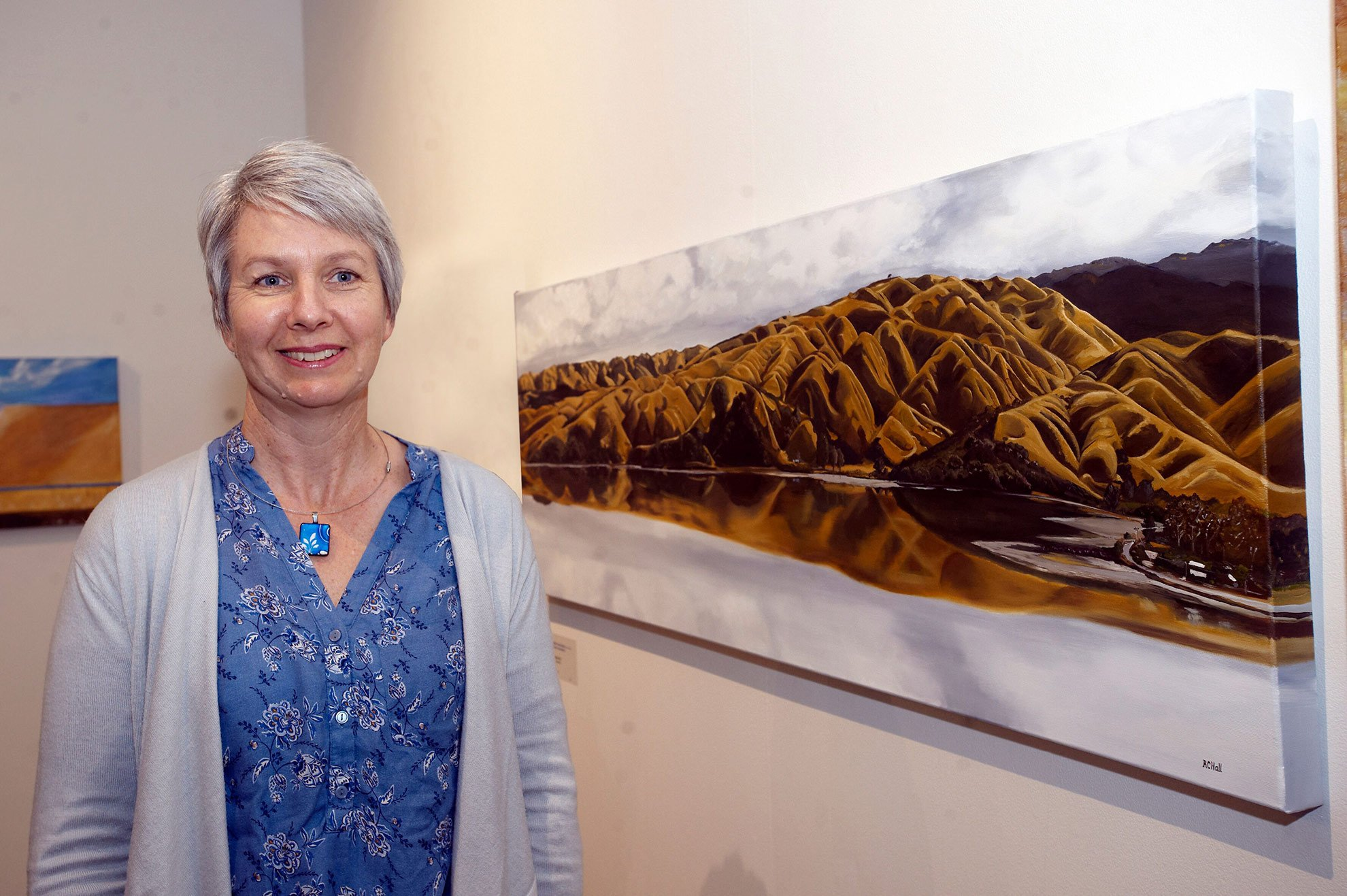 2019 Pātaka Friends Art Awards Highly Commended Awards Robyn Hall