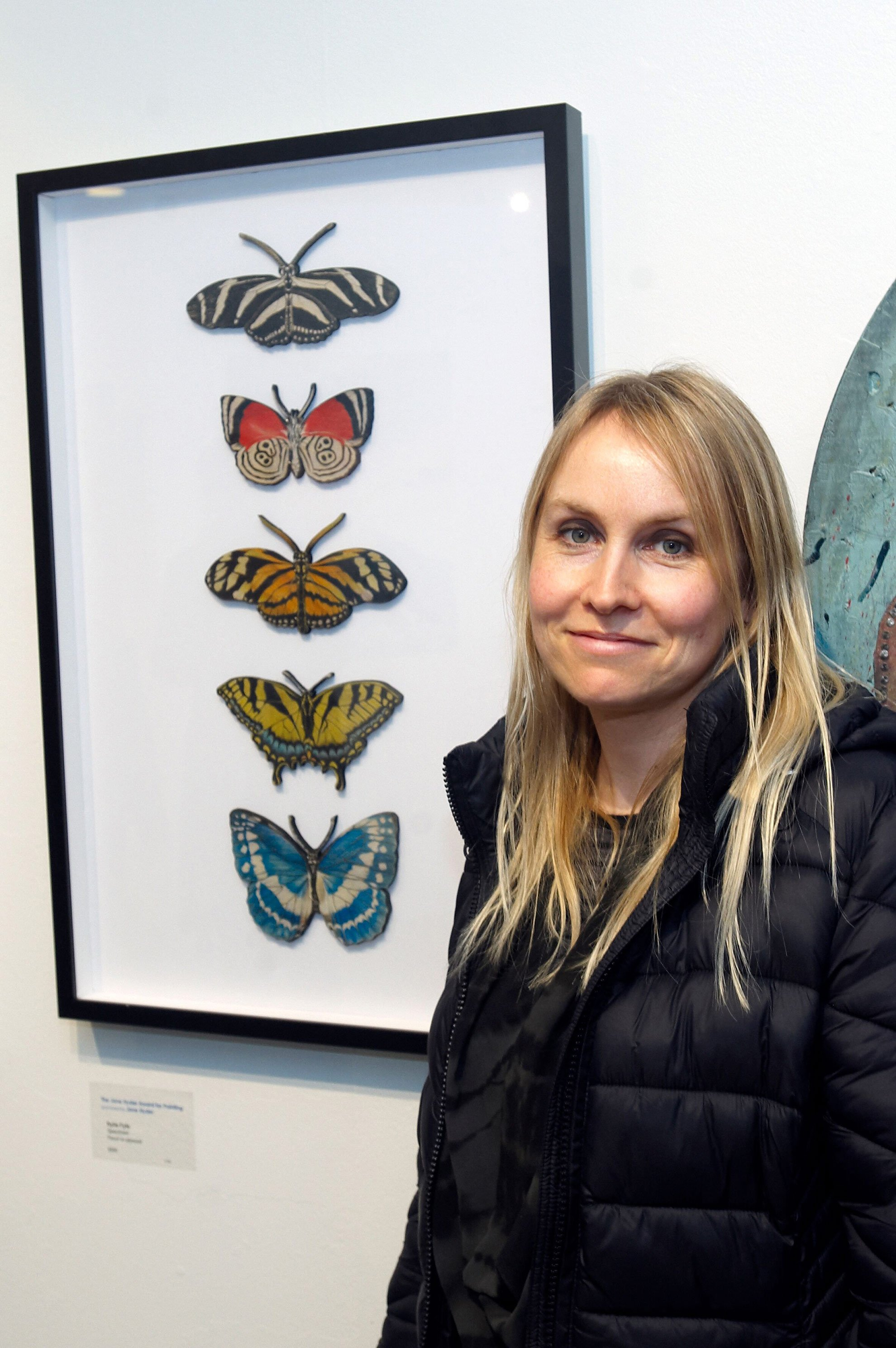 2019 Pātaka Friends Art Awards Jane Hyder Painting Award Winner Kylie Fyfe