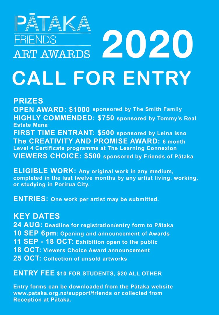 FOPAA Call for entry