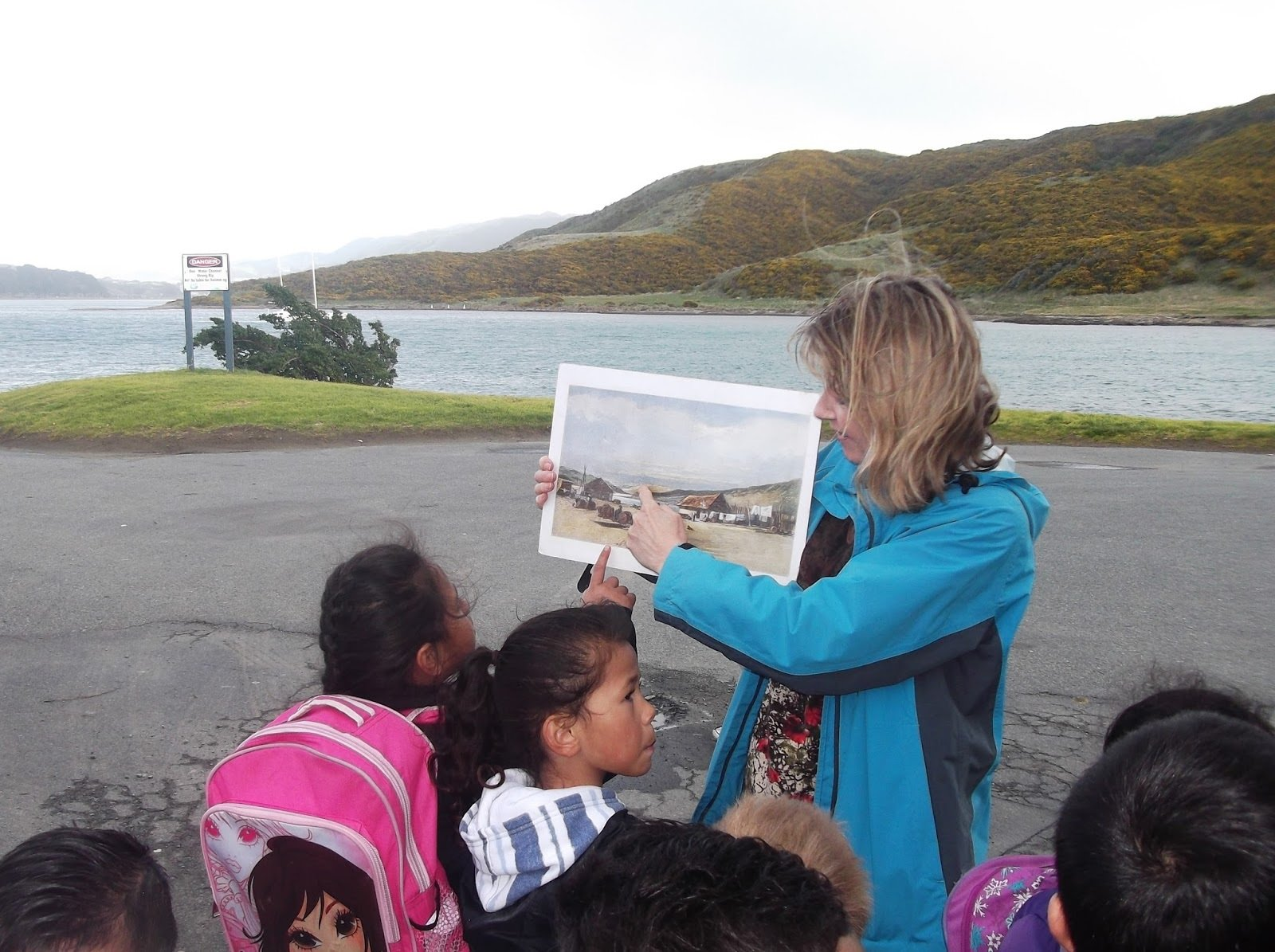 History Tour Rangikura - Following First Footprints School Programme