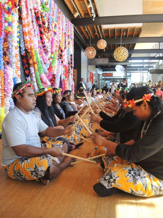 Kiribati day at Pataka in the spine