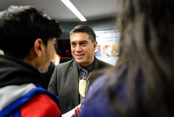 News - JobFest 2017 - Mayor with students