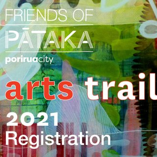 Friends of Pātaka Arts Trail 2021 Registration