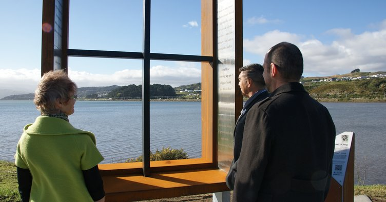 News - Window to another world - Michael King sculpture