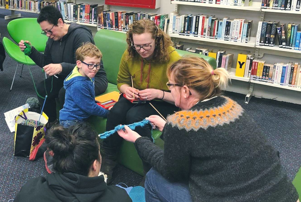 Tuia te reo @ central library