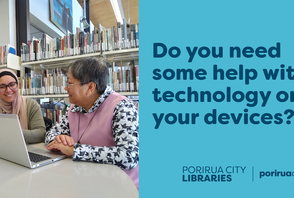 Library technology device support