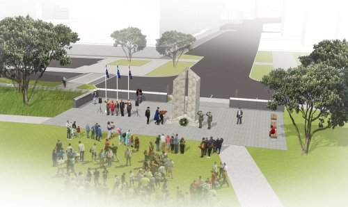 City Projects - Peace memorial upgrade