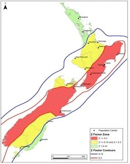Earthquake prone buildings - Map of New Zealand