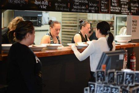 Kaizen Cafe staff