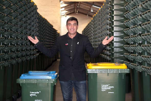 news - recycling wheelie bins replace crates