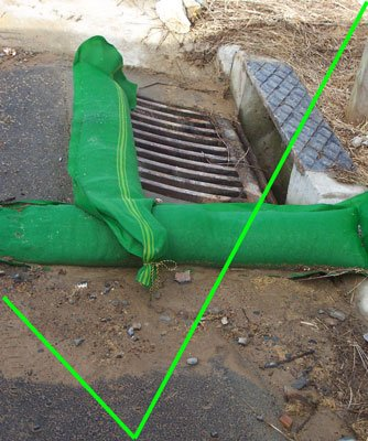 Silt and Sediment Control - Open Stormwater Drains - 13-grill