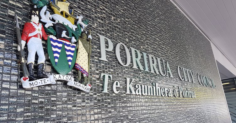 Outside Admin building with logo PCC.jpg