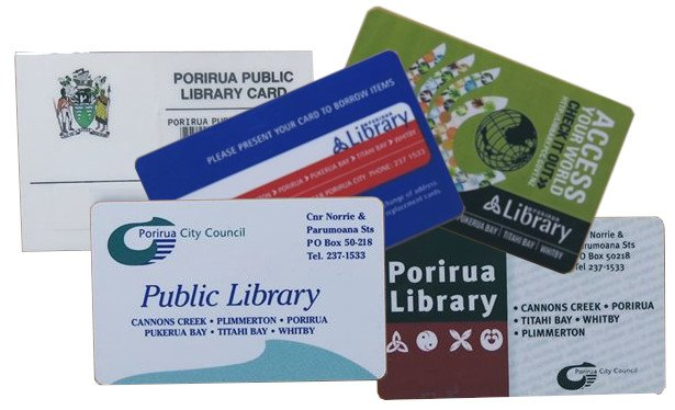 Old library cards - if you have one trade it in