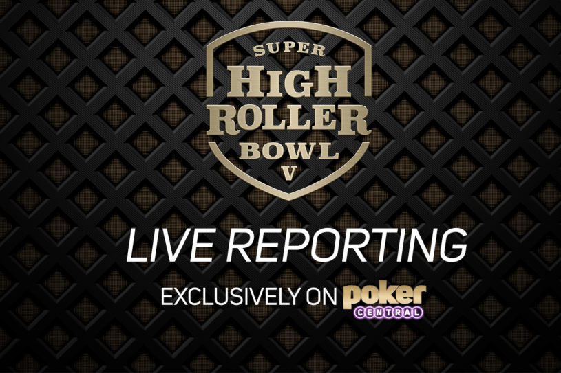 For the very first time, Poker Central is providing its own exclusive Live Reporting of the Super High Roller Bowl.
