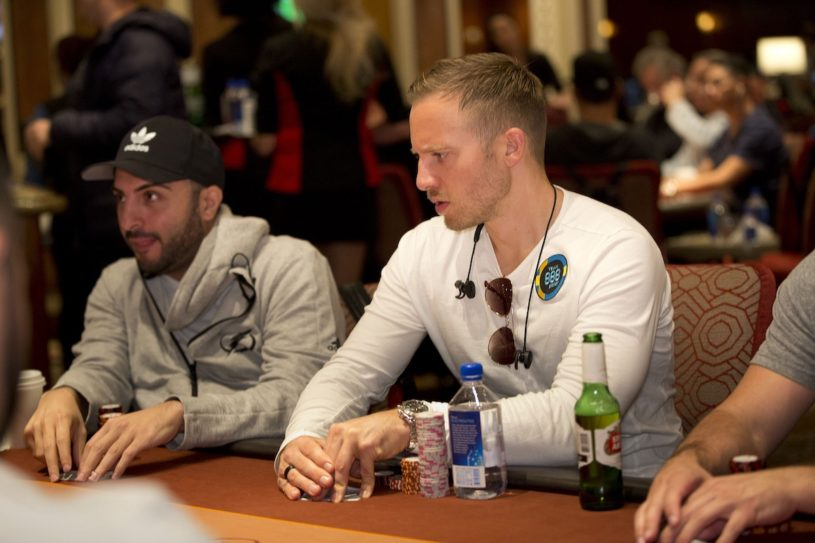 The 2012 WSOP Main Event winner Martin Jacobson is in strong contention heading into Day 2 of WPT Five Diamond.