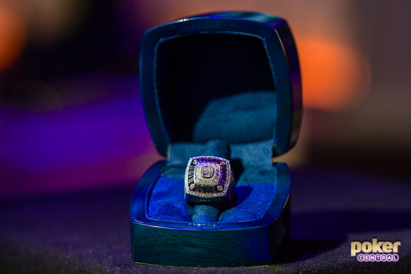 The Championship Ring along with $3.6 million awaits the winner today!