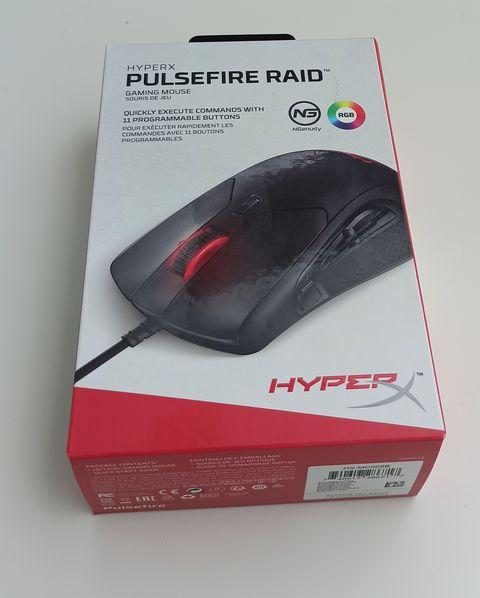 HyperX Pulsefire Raid – skvělá ergonomie a spousta tlačítek