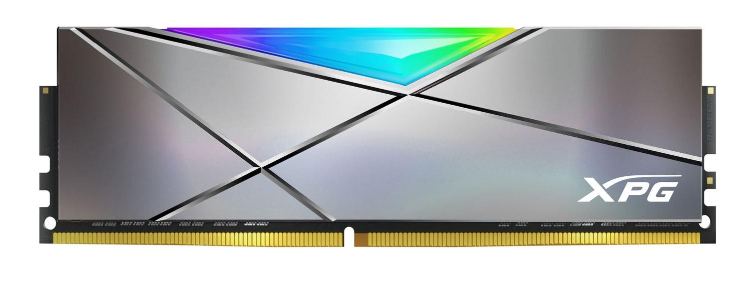 XPG Spectrix D50 Xtreme jsou rychlé paměti s RGB podsvícením