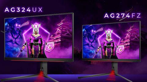 AGON PRO AG324UX a AG274FZ: technologiemi nabité herní monitory
