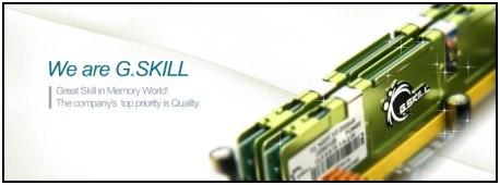 Paměťový kit G.Skill - 4GB ve dvou modulech