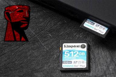 Soutěž s Kingstonem o špičkové karty SD a microSD Canvas Go!