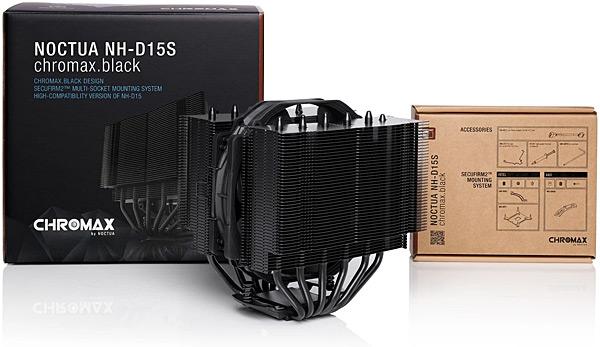Chladič procesoru Noctua NH-D15S chromax.black