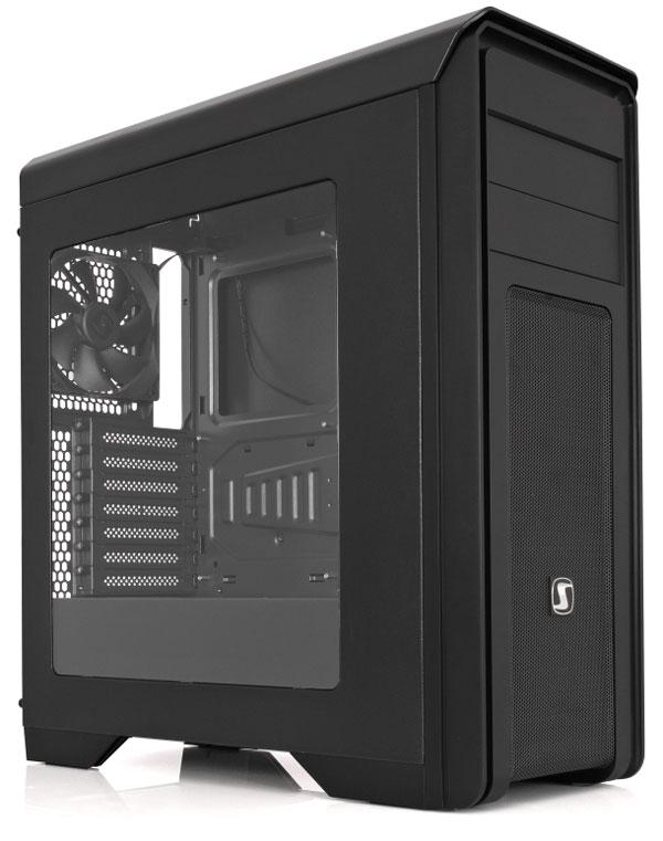 Počítačová skříň SilentiumPC Gladius M35W Pure Black