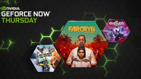 Far Cry 6, Marvel's Guardians of the Galaxy, Riders Republic a další hry v GeForce NOW