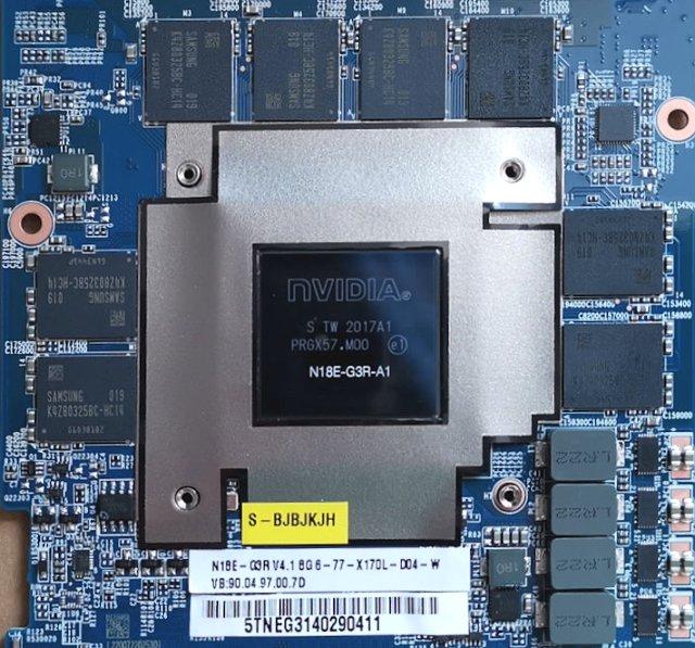 MXM s RTX 2080 Super
