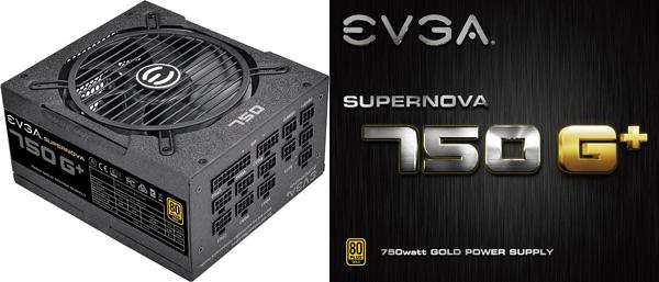 Napájecí zdroj EVGA SuperNOVA 750 G+