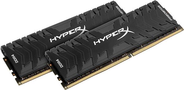 Paměťové moduly Kingston HyperX Predator 16 GB (2× 8 GB)
