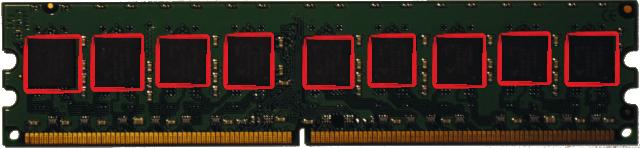 Paměť s čipem navíc pro ECC