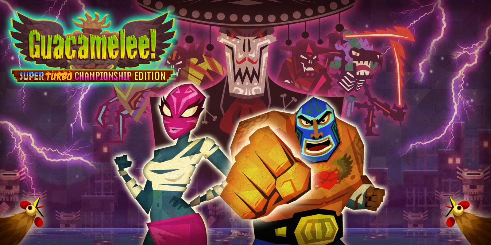 Humble Bundle rozdává Guacamelee! Super Turbo Championship Edition