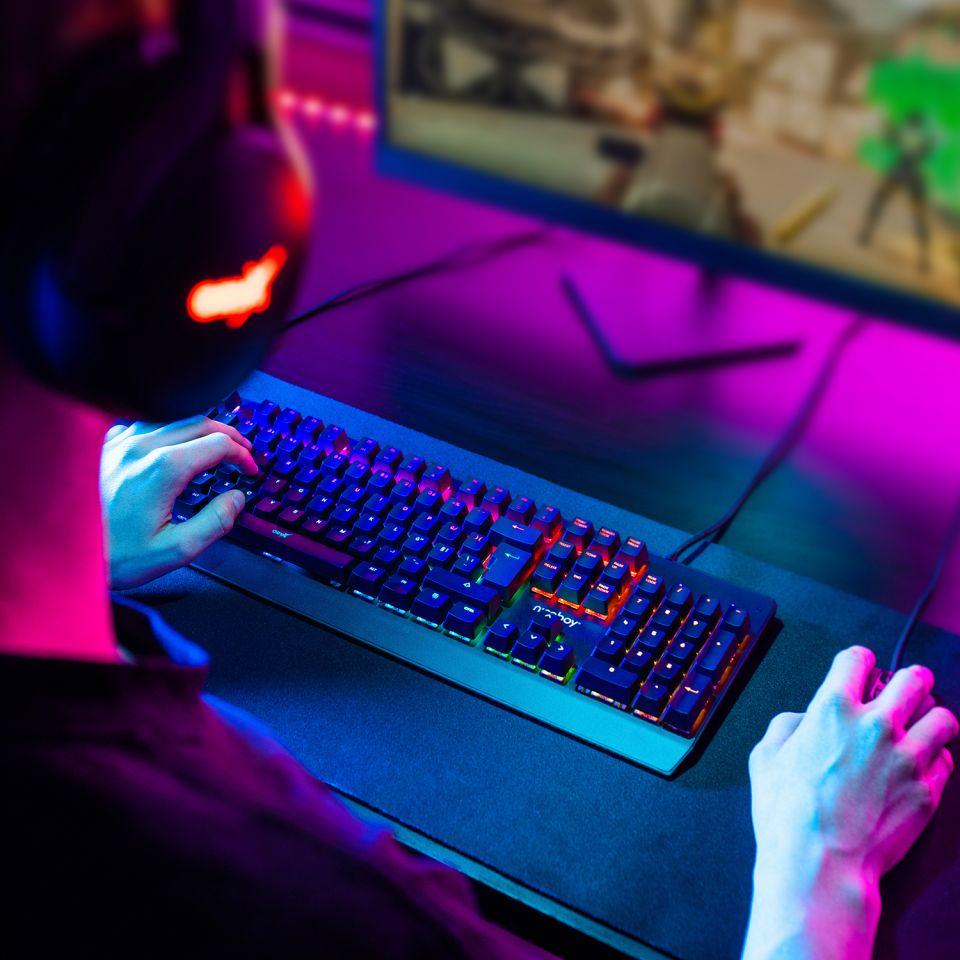 Niceboy vydává novou mechanickou klávesnici ORYX K610 Chameleon