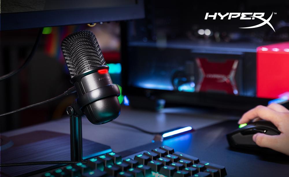 HyperX posílá do obchodů levný studiový mikrofon SoloCast