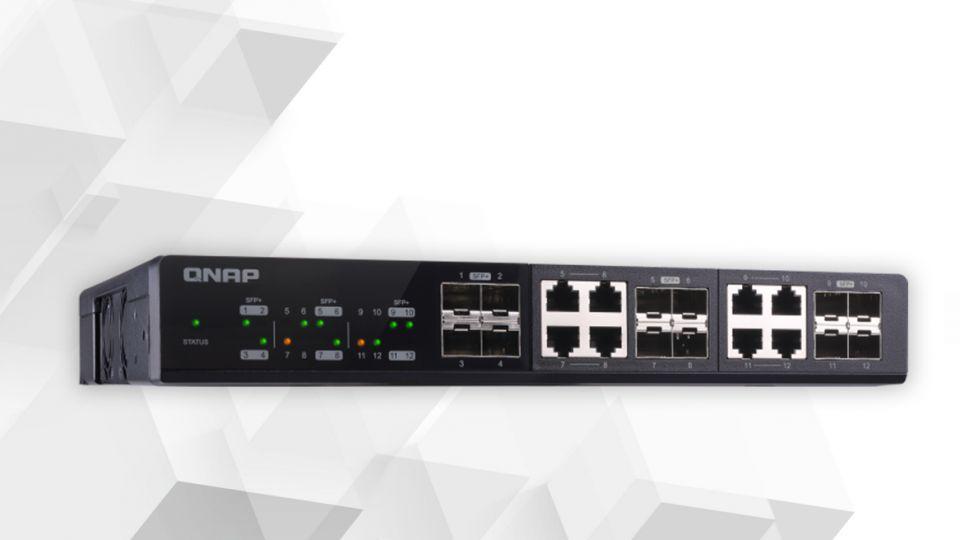 10Gb switch QSW-M1208-8C a pokročilé funkce switchů QNAP