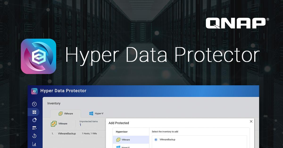QNAP představuje Hyper Data Protector, bezlicenční řešení zálohování VMware a Hyper-V