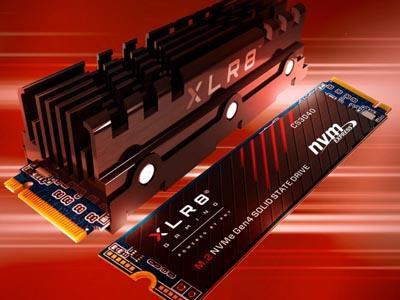 PNY uvádí SSD XLR8 CS3040 s masivním chlazením a PCIe Gen4