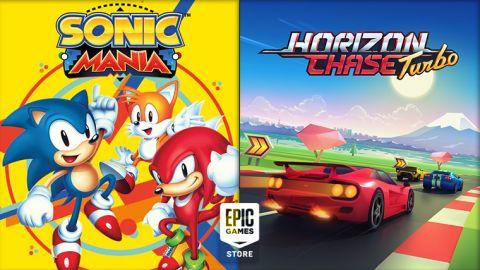Hry zdarma: Epic rozdává Sonic Mania a Horizon Chase Turbo