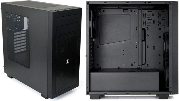 Počítačová skříň SilentiumPC Aquarius M60W