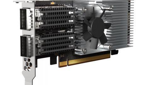 QNAP QXG-100G2SF-E810: dvouportová rozšiřující síťová karta pro Windows a Linux