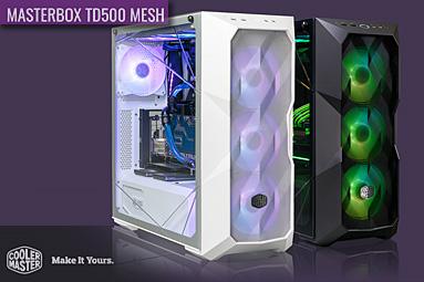 CM MasterBox TD500 Mesh: pěkně vybroušená skříň