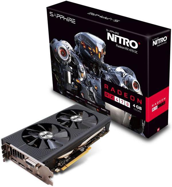 Grafická karta AMD Radeon RX 470 – Sapphire NITRO+ Radeon RX 470 4G D5