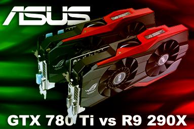 2× Asus Matrix Platinum v testu: GTX 780 Ti vs R9 290X