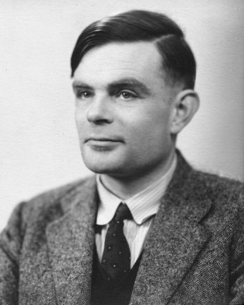"""""""Alan Turing photo"""" by ieee.org Licensed under Fair use via Wikipedia."""