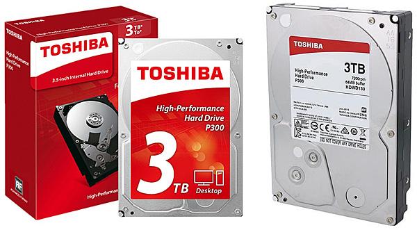 Pevný disk Toshiba P300 3 TB