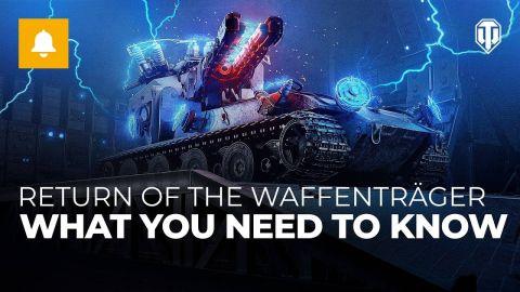 Asymetrické bitvy startují ve World of Tanks s akcí Návrat Waffenträgera