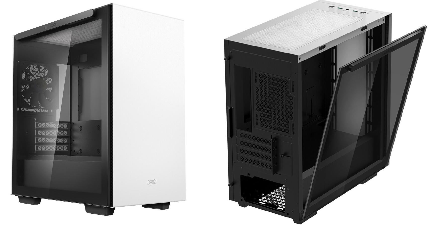 DeepCool láká na kompaktní počítačovou skříň Macube 110 White